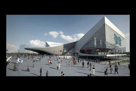 Zaha Hadid's Olympic Aquatic Centre